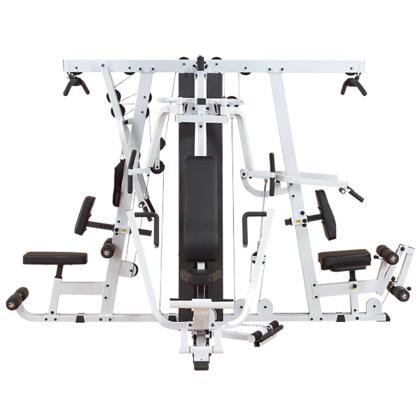 Classic Series EXM4000S Selectorized Home Gym with Hydraulic Seat and Triple 210-Pound Weight