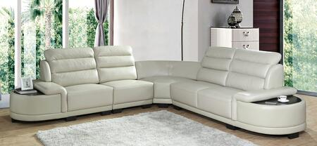 Orchid Collection ORCHID SECTIONAL 4-Piece Sectional Sofa with Left Arm Facing Chair  Armless Chair  Corner and Right Arm Facing Loveseat in