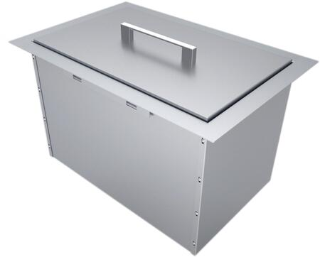 B-IC14 14 inch  x 12 inch  Over/Under Single Basin Insulated Wall Ice Chest with