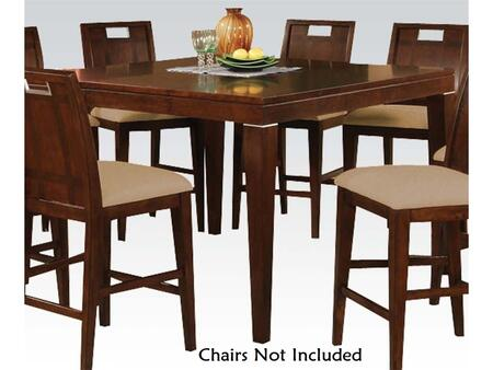 11810 Donovan Counter Height Table with Clean Lines and Tapered Legs in Walnut