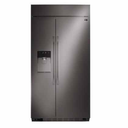 LSSB2696BD 42 inch  Energy Star Built-In Side-by-Side Refrigerator with 25.6 cu. ft. Total Capacity  External Ice and Water Dispenser  Multi-Air-Flow Technology  5