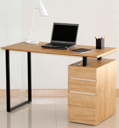 RTA-1305-PN Techni Mobili Computer Desk with Storage and File