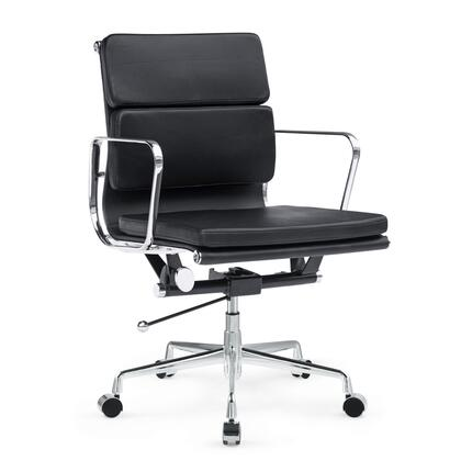 FMI1215-black Soft Conference Office Chair Mid Back