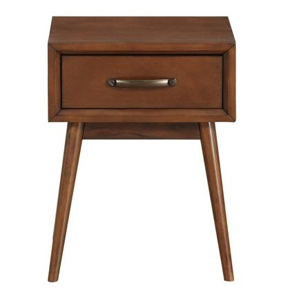 DSD061008 Draper Mid-Century Modern In Brown End