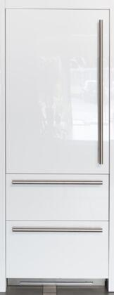 FI30BDI-LO 30 inch  Integrated Series Built In Bottom Freezer Refrigerator with 16 cu. ft. Capacity  Double Freezer Drawer  TriMode  Ice Maker  TotalNoFrost