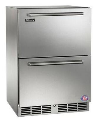 """Signature Series HP24ZS5 24"""" Dual Zone Counter Depth Freezer/Refrigerator Drawer with 5 cu.ft. Capacity  1 000 Btu Variable-Speed Compressor and Digital"""