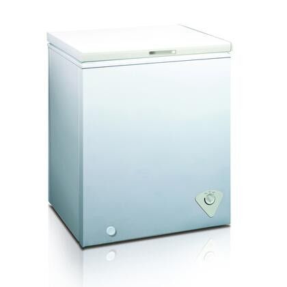 WHS-185C1 30 inch  5.0 CF Manual Defrost Chest Freezer with Mechanical Temperature Control  Adjustable Thermostat  Removable Storage Basket and Balanced Hinge