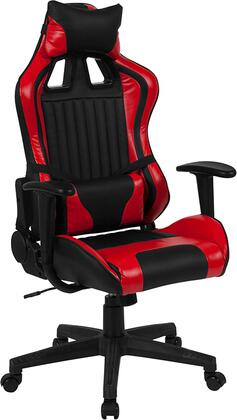 CH-CX1063H-RD-GG Cumberland Comfort Series High Back Black And Red Executive Reclining Racing/Gaming Swivel Chair With Adjustable Lumbar Support 26