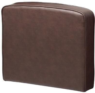 BRS1RA-BB 22 inch  Right Arm for BRS12 Sectional Sofa with Modern Style Design in Bomber Brown LeatherPlus