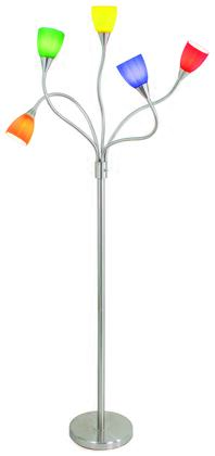 MEDUSA FLR 5ARM Medusa Contemporary Floor Lamp in