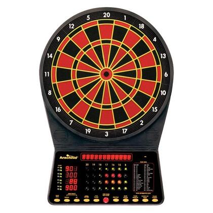 E300ARA Cricket Master 300 13 inch  Target Area Dartboard with 6 Soft-Tip Darts and Extra Tips  AC Adapter  Mounting Hardware  Game Instructions  and Operating