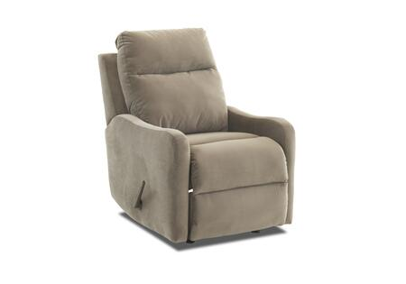 Tacoma Collection 91803H-RRC-TC 28 inch  Rocking Reclining Chair with Shaped Track Arms  Full Chaise Pad Lounge Pad and Tufted Back Cushion in Tina