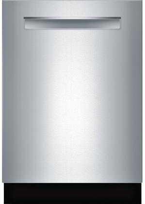 Bosch SHPM65W55N 24 500 Series Built In Fully Integrated Dishwasher with 5 Wash Cycles, in Stainless Steel