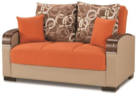 Mobimax Collection MOBIMAX LOVE SEAT ORANGE 17-342 65
