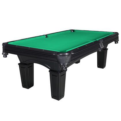 NG2687GR Cobra 8-Ft Slate Billiard Pool Table W/ Green