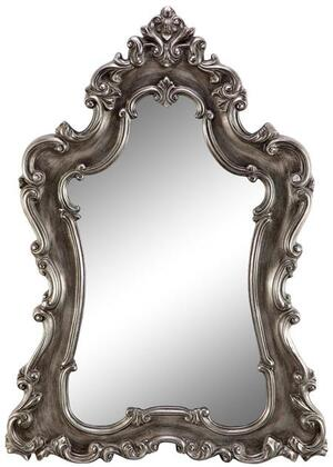 Tara Manor 13454 79 inch x 48 inch  Wall Mirror with Baroque Frame  Rectangular Shape and Traditional Style in