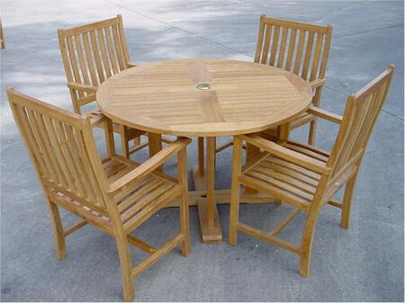 SET-16 5-Piece Dining Set with Tosca 47