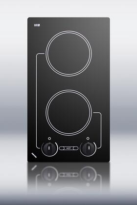 "B41601 21"" Smoothtop Electric Cooktop with Infinite Heat Control and Hot Burner Indicator Lights: 110"