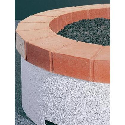 OCR-34-RB Red Concrete Top Ring for 34 Inch Fyre Pit