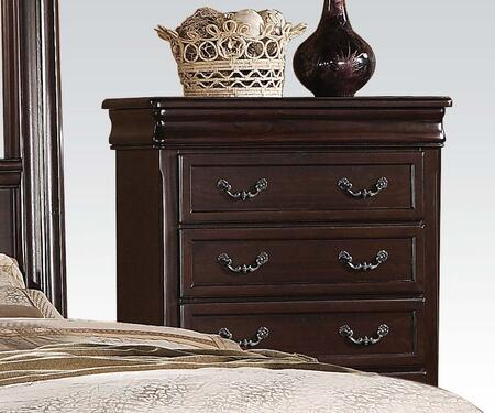 Roman Empire II Collection 21349 38 inch  Chest with 6 Drawers  Metal Hardware  Center Metal Drawer Glides and Hand Selected Veneers in Cherry