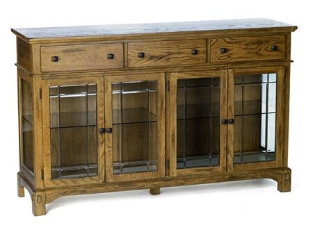 LAURO9080 Laurelhurst 66 Buffet  Rustic Oak