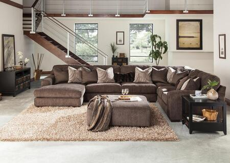 Serena Collection 2276-75-30-59-42-2772-69/2773-59/2774-28/2929-69 166 inch  4-Piece Sectional with Left Arm Facing Chaise  Corner Section  Armless Sofa and Right