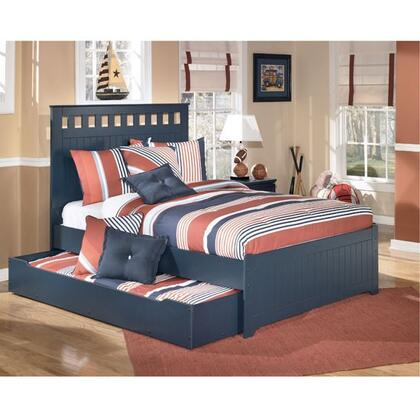 B103-84/86/87/60/B100-12 Full Size Panel Bed with Trundle: