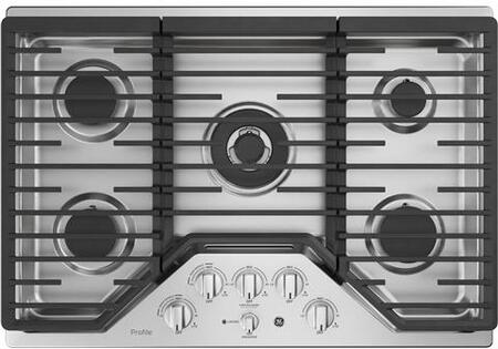 GE PGP9030SLSS 30 Inch Natural Gas Cooktop with 5 Sealed Burners