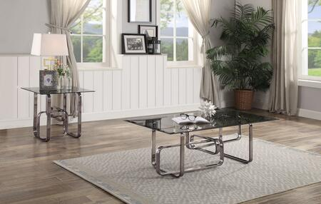 Berit Collection 83030CE Living Room Table Set with 50