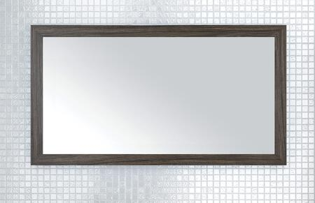 Sangallo Collection FVTETE40MR 40 inch  x 22 inch  Mirror with Shaker Style Frame and Hanging Wire Included in Tete A Tete