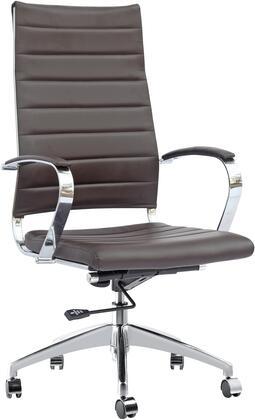 FMI10078-dark brown Sopada Conference Office Chair High Back  Dark