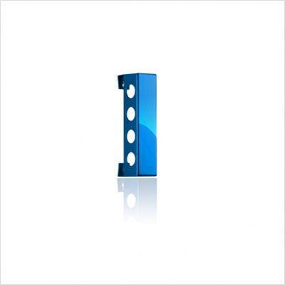 VB4PBL Polished Blue Vertical Wine Rack With Modern and Innovative Designs  Vertically Mounted & In