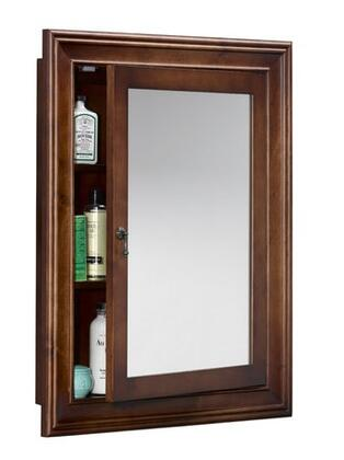 611027-F11 34 inch  Traditional Style Wood Framed Medicine Cabinet: Colonial