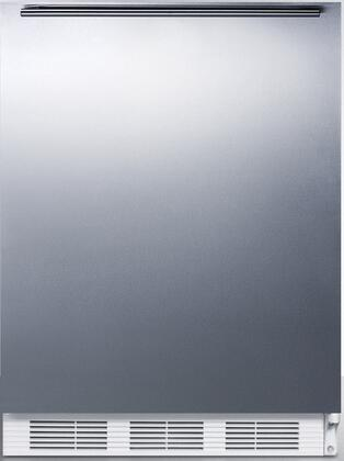 CT66JSSHHADA 24 inch  CT66JADA Series ADA Compliant  Medical Compact Refrigerator with 5.1 cu. ft. Capacity  Interior Light  Adjustable Thermostat  Clear Crisper