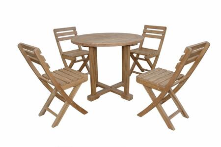 SET-228 5-Piece Bistro Set with 35