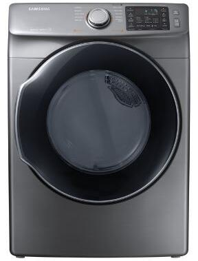 "DVG45M5500P 27"" Front-Load Gas Dryer With 7.5 cu. ft. Capacity DOE  Energy Star Certified  Multi-Steam Technology  Vent Sensor  Sensor Dry  4 Temperature"
