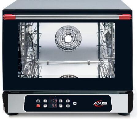 AX513RHD Half Size Digital Convection Oven with Manual Controls  3 Shelves Half Size Pans  Up to 500 Degrees F  16 Hour Timer  in