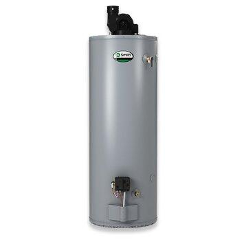 GPDX-75L  75 Gallon ProMax Power Direct Vent Water Heater with Side Connections: Natural
