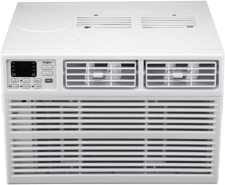 Whirlpool WHAW121BW Energy Star 12,000 BTU 115V Window-Mounted Air Conditioner with Remote Control, White