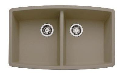 441290 Performa Silgranit Equal Double Bowl Kitchen Sink In
