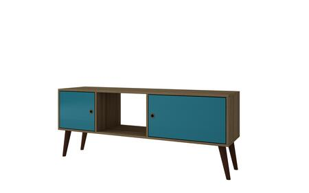 67AMC134 Varberg Splayed Leg TV Stand in Oak and