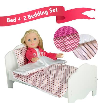 Click here for TD-11929-2A Teamson Kids - Little Princess 18 Doll... prices