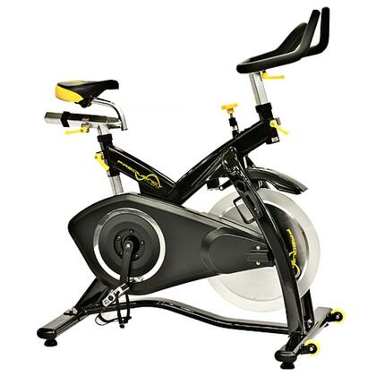 FF-300-M50 Lite Commercial Magnetic Indoor Cycle with Magnetic Resistance  Ultra Strong Ball Bearings  Flywheel Axles  Optional SPD Pedals and Easy Assembly