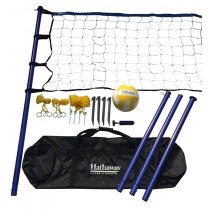 BG3137 Volleyball Set with  Steel Posts  Net  Ball  Hand Pump and Carrying