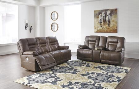 Wurstrow Collection U54603SL 2-Piece Living Room Set with Reclining Sofa  and Loveseat in