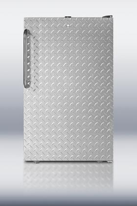 FF521BLBIDPL 20 inch  FF521BLBI Series Medical Freestanding or Built In Compact Refrigerator with 4.1 cu. ft. Capacity  Adjustable Glass Shelves  Crisper  Interior
