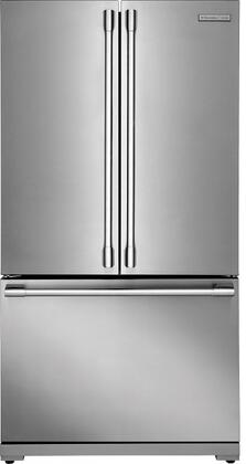 E23BC69SPS 36 inch  Professional Counter-Depth French Door Refrigerator with 22.3 cu. ft. Total Capacity  Custom Temp Drawer  Theatre Lighting  PureAdvantage