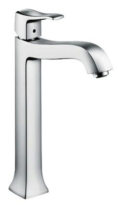 Hansgrohe 31078001 Metris C  Classic 1-Handle  12 Tall Bathroom Sink Faucet, Chrome