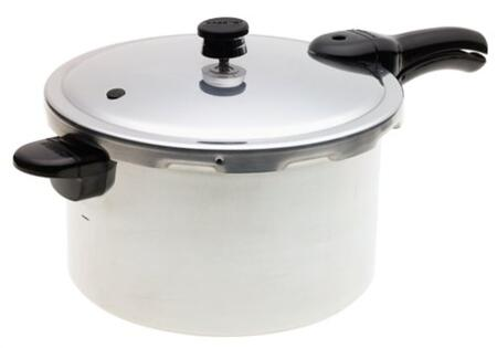 01282 8-Quart Aluminum Pressure Cooker and