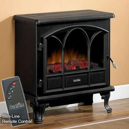 DFS-750-1 25 Inch Remote Control Black Electric Stove